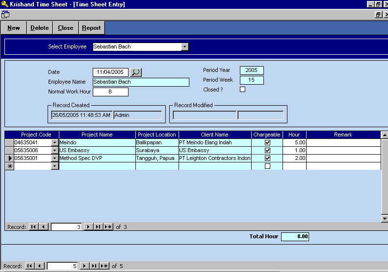 Software Time Sheet Indonesia